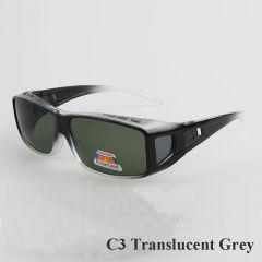 Polarizační brýle na dioptrické brýle se zelenou čočkou