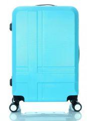 Cestovní kufr ABS T-Class 3011 BLUE střední M