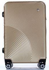 Cestovní kufr ABS-PC T-Class 2011 s TSA CHAMPAGNE velký L