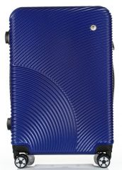 Cestovní kufr ABS-PC T-Class 2011 s TSA BLUE střední M