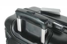 Cestovní kufr ABS-PC T-Class 618 s TSA BLUE velký L E-batoh