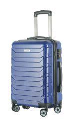 Cestovní kufr ABS-PC T-Class 618 s TSA BLUE střední M E-batoh