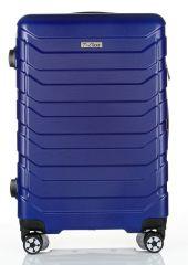 Cestovní kufr ABS-PC T-Class 618 s TSA BLUE střední M