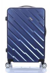 Cestovní kufr ABS-PC T-Class 7001 s TSA BLUE střední  M