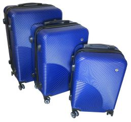 Cestovní kufry sada ABS-PC T-Class 2011 s TSA BLUE