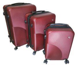 Cestovní kufry sada ABS-PC T-Class 2011 s TSA RED