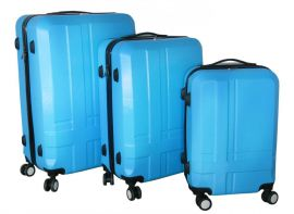 Cestovní kufry sada ABS T-Class 3011 BLUE