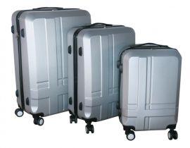 Cestovní kufry sada ABS T-Class 3011 SILVER