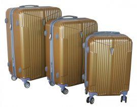 Cestovní kufry sada ABS-PC T-Class 5001 s TSA GOLD