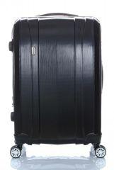 Cestovní kufr ABS-PC T-Class 7002 s TSA BLACK střední M