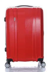 Cestovní kufr ABS-PC T-Class 7002 s TSA RED malý S