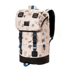 MEATFLY PIONEER 3 BACKPACK C - STAMPS BEIGE