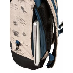 MEATFLY PIONEER 3 BACKPACK C - STAMPS BEIGE E-batoh