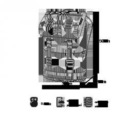 MEATFLY PIONEER 3 BACKPACK D - BLACK E-batoh
