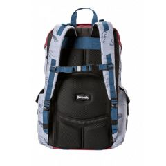 MEATFLY SCINTILLA BACKPACK B - STAMPS LIGHT GREY E-batoh