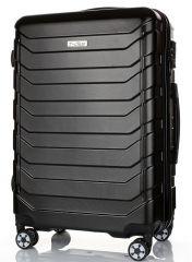 Cestovní kufr ABS-PC T-Class 618 s TSA BLACK střední M