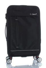 Cestovní kufr textilní T-Class 352 s TSA BLACK velký L