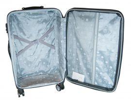 Cestovní kufr textilní T-Class 352 s TSA BLACK velký L E-batoh