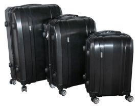Cestovní kufry sada ABS-PC T-Class 7002 s TSA BLACK