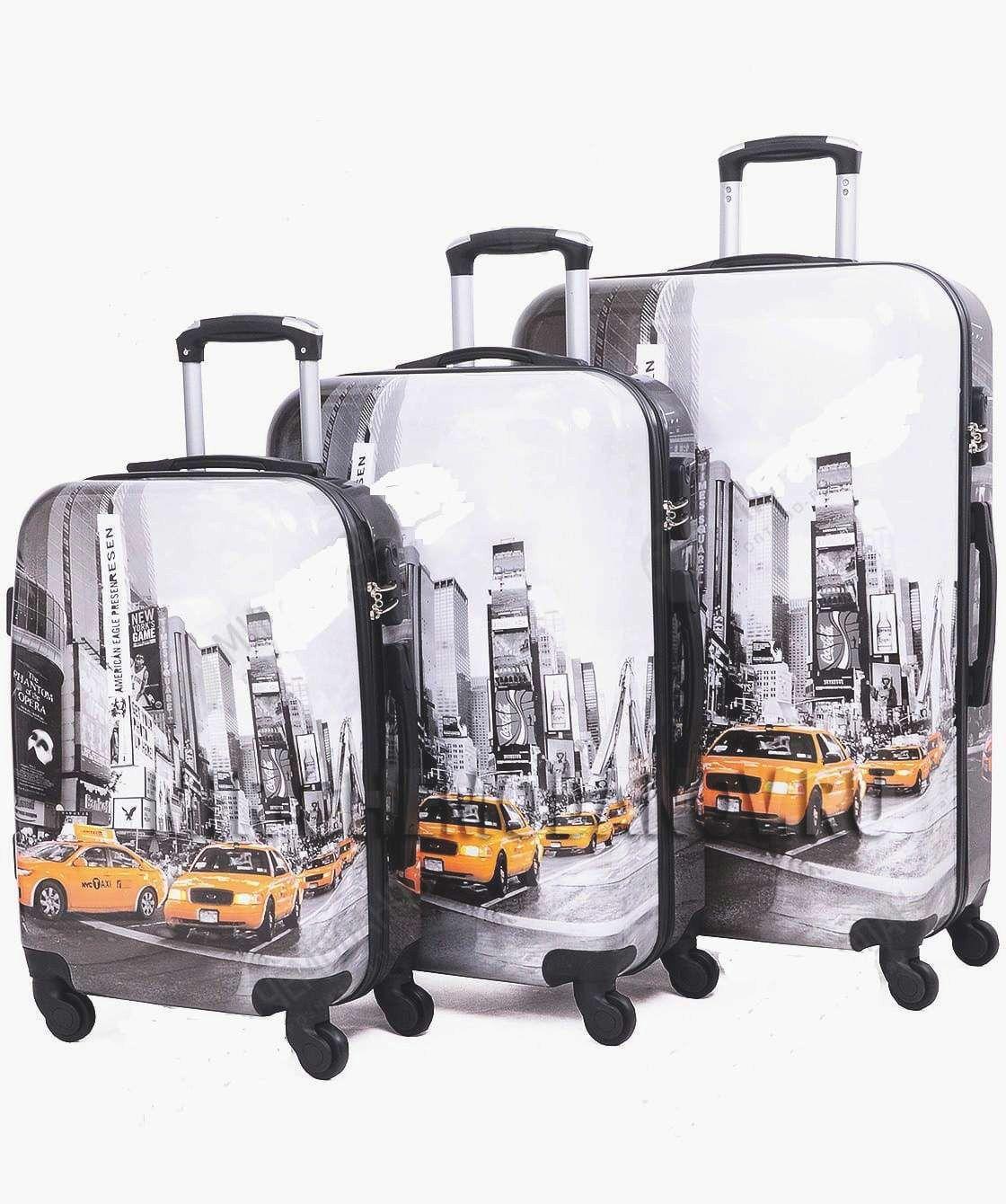 Cestovní kufr ABS TAXI TR-A29E S E-batoh