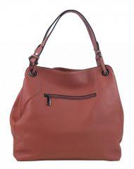 Růžová moderní kabelka přes rameno 3990-BB BELLA BELLY E-batoh