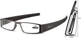 SKLÁDACÍ dioptrické brýle MR26 BLACK+2,50