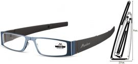 SKLÁDACÍ dioptrické brýle MR26B BLUE+2,00