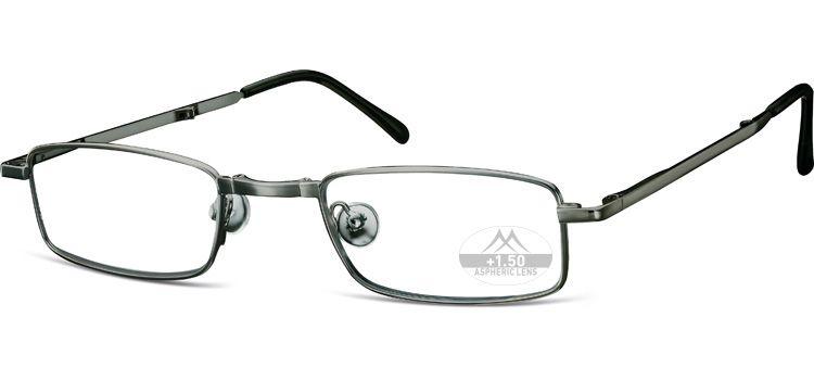 MONTANA EYEWEAR SKLÁDACÍ dioptrické brýle RF25A SILVER +3,50