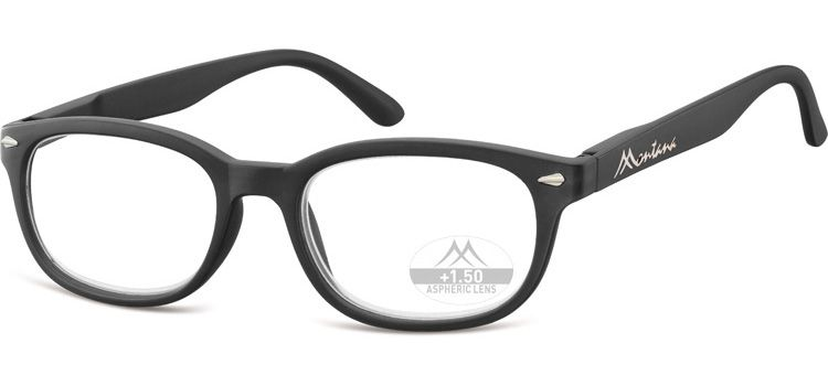 Dioptrické brýle Lihhtweight MR70 BLACK+1,00