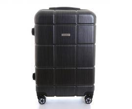 Cestovní kufr ABS-PC T-Class 2222 s TSA BLACK střední M
