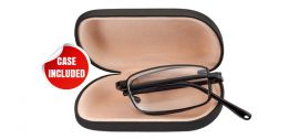 SKLÁDACÍ dioptrické brýle RF25B BLACK+2,50 E-batoh