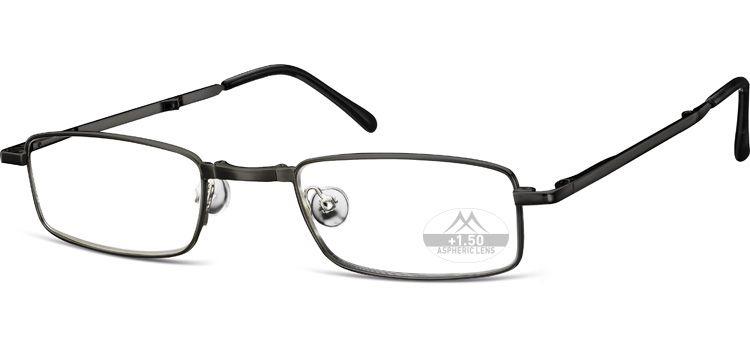 SKLÁDACÍ dioptrické brýle RF25B BLACK+2,50