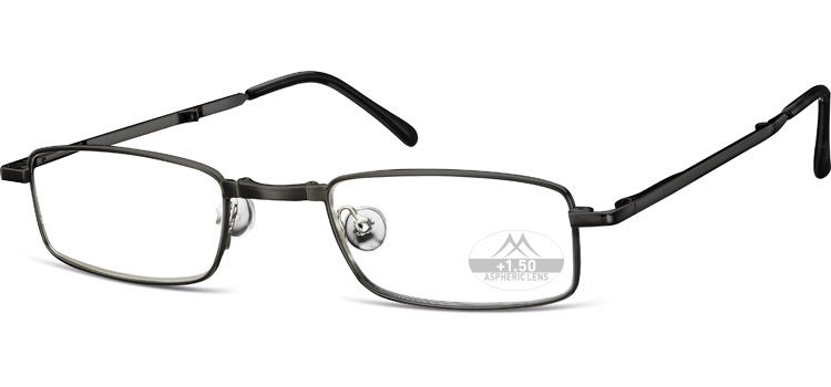 SKLÁDACÍ dioptrické brýle RF25B BLACK+3,50