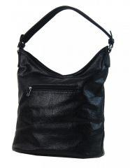 Elegantní kombinovaná dámská crossbody kabelka NH8023 černá NEW BERRY  E-batoh f5c0941d461