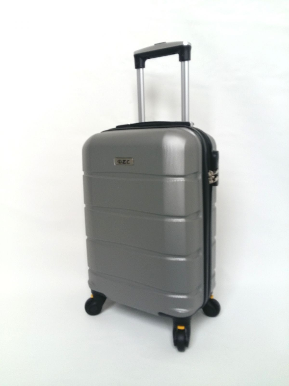 Kabinový kufr TR-A39 SILVER BRIGHT XS