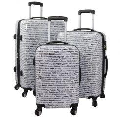 Cestovní kufry sada CITY L,M,S