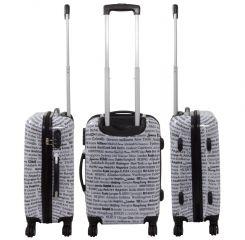 Cestovní kufry sada CITY L,M,S MONOPOL E-batoh