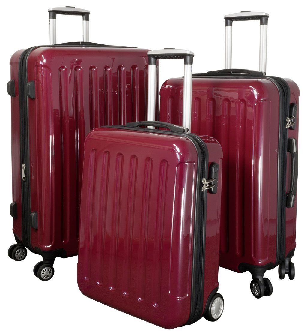 Cestovní kufry sada FRANKFURT L,M,S MONOPOL E-batoh