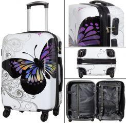 Sada 2ks cestovních kufrů BUTTERFLY M,S MONOPOL E-batoh