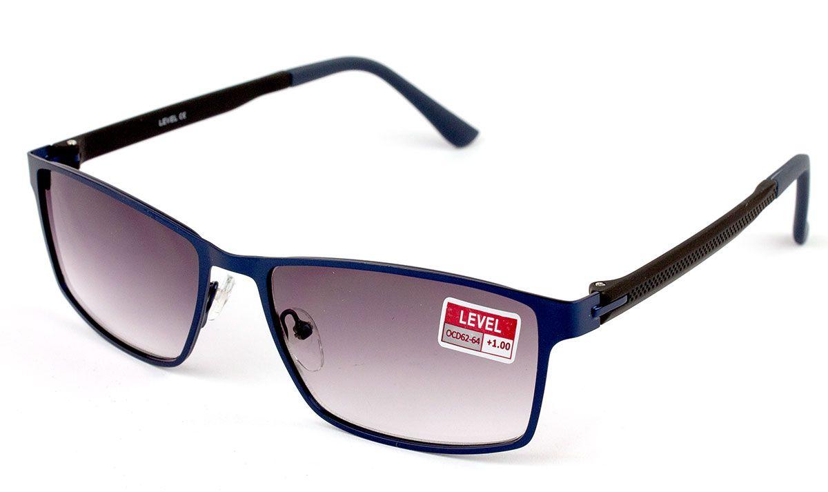 Dioptrické brýle Level F1553 / +4,00 ZATMAVENÉ ČOČKY