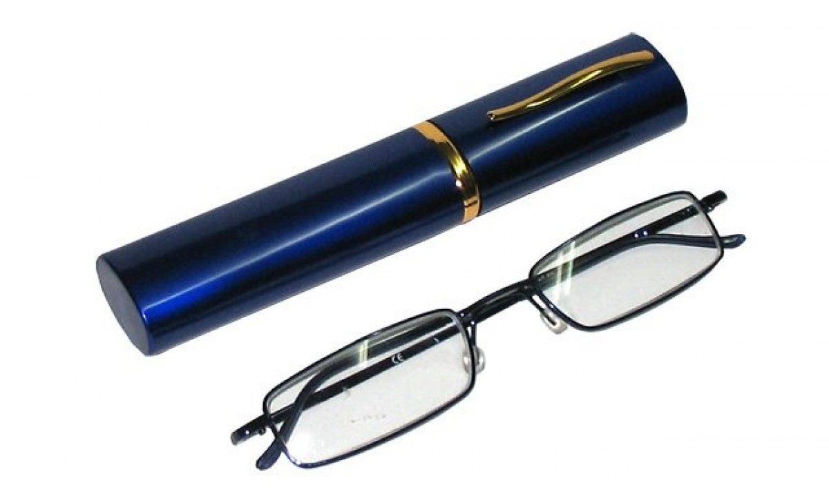 Dioptrické brýle v pouzdru Koko 2134/ +2,25 modrý