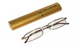 Dioptrické brýle v pouzdru Koko 2134/ +3,25 zlatý