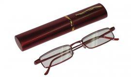 Dioptrické brýle v pouzdru Koko 2134/ +2,75 vínové