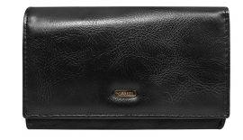 Černá dámská peněženka 4U Cavaldi D19