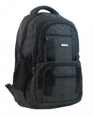 New Berry Elegantní polstrovaný školní batoh L18106 černý