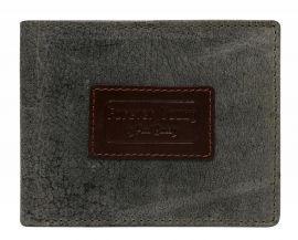 Šedá pánská kožená peněženka v krabičce RFID Forever Young E-batoh