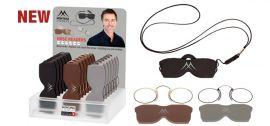 Nosní dioptrické brýle na čtení NR2 +2,50 cvikr MONTANA EYEWEAR E-batoh