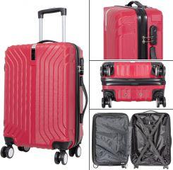 Cestovní kufr PALMA s TSA RED BRIGHT velký L MONOPOL E-batoh