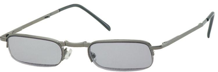 SKLÁDACÍ dioptrické brýle RF24AS zatmavené +3,00