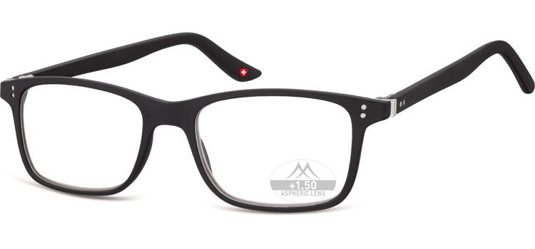 Dioptrické brýle Lihhtweight MR72 BLACK+3,50